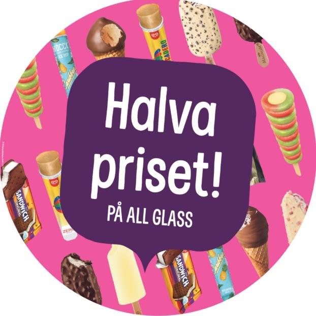 pressbyrån presentkort glass