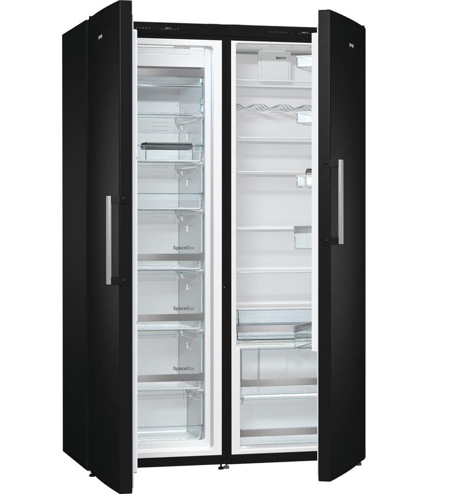 gorenje køleskab sort