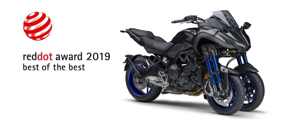 Yamaha Niken Wins 2019 Red Dot Best Of The Best Award For