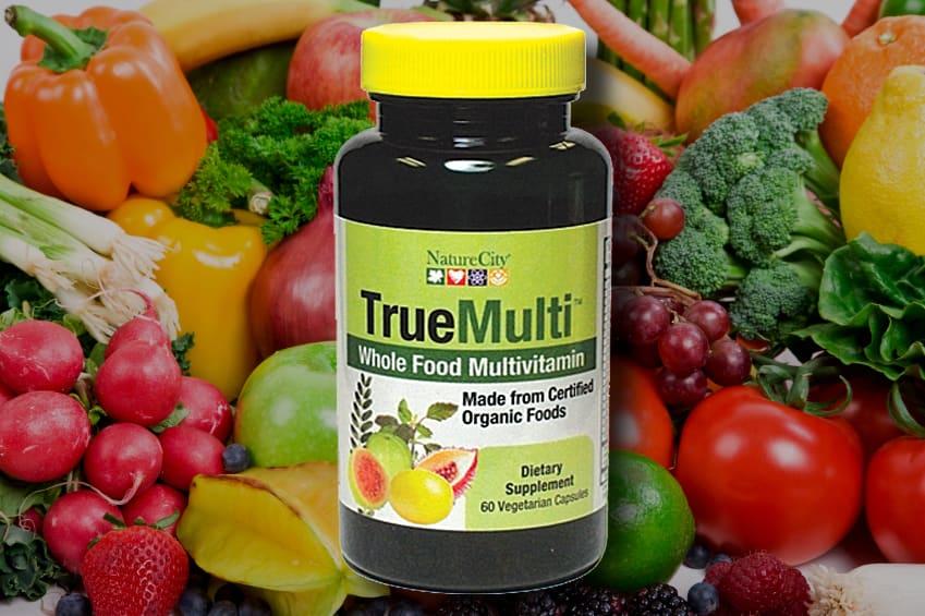 naturlig multivitamin