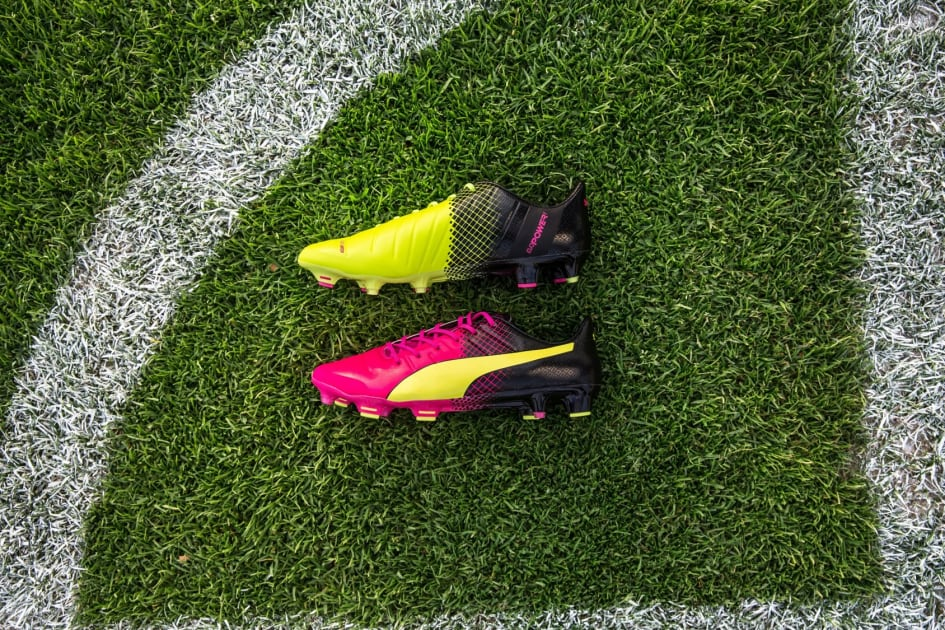 8f2445739 PUMA reveals the latest edition of its dual coloured Tricks boot with PUMA  players Sergio Agüero, Marco Reus, Cesc Fàbregas, Marco Verratti, Olivier  Giroud ...