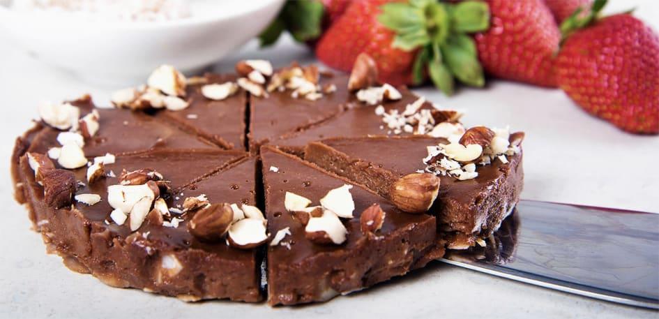 vegansk glutenfri tårta