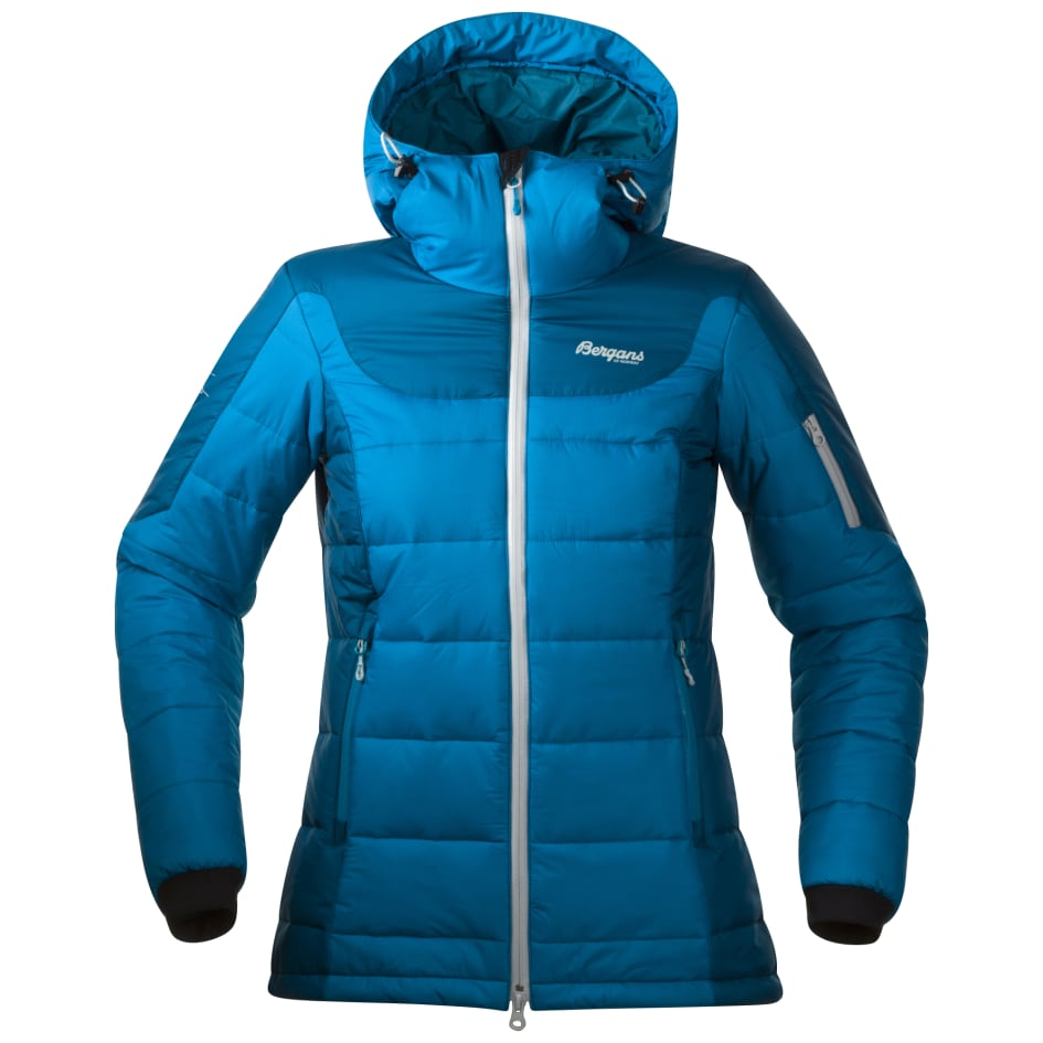 87349f29 Cecilie Insulated Jacket - Shallow Water - Bergans of Norway