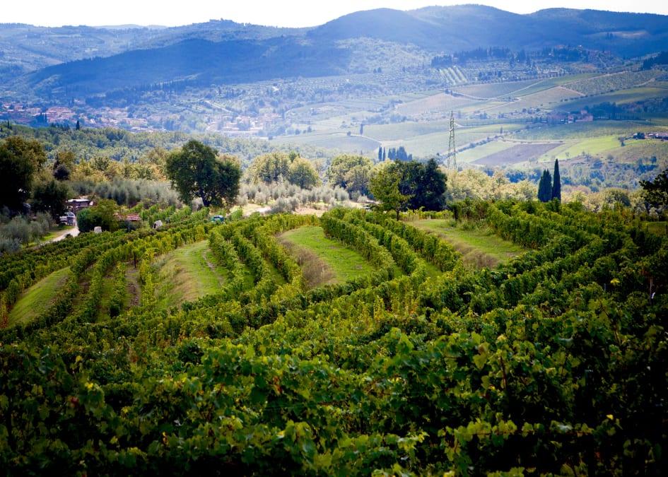 Karta Italien Chianti.Nio Byar Nio Forutsattningar Nu Satts Chianti Classico Pa Kartan