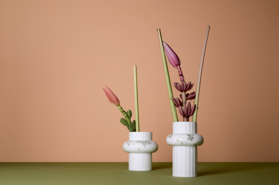 Herald Of Spring The New Rosenthal Vases Collection Rosenthal Gmbh