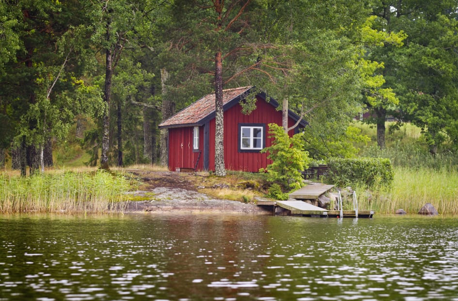 hyra stuga stockholms skärgård billigt