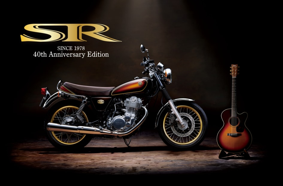 Unmistakable Big Single Flavor: The SR400 Yamaha Motor Newsletter