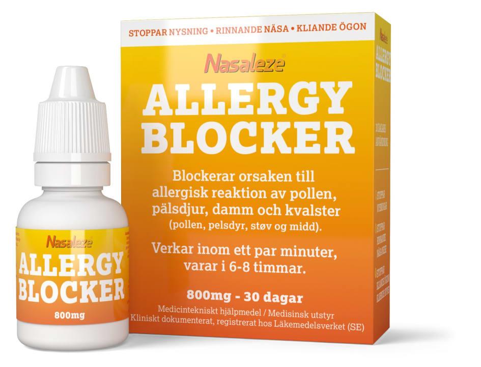 medicin mot pollenallergi