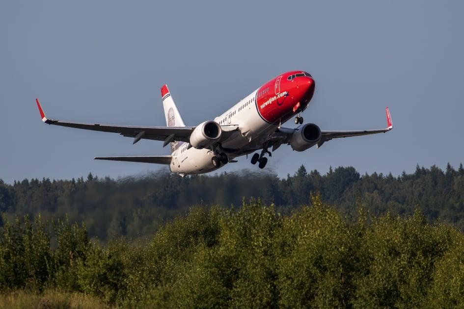 norwegian aalborg lufthavn