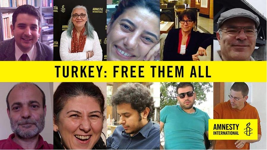 Svensk forfattare greps i turkiet