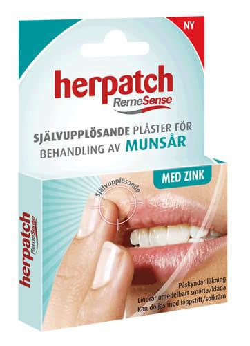 mun blåsor i munnen behandling
