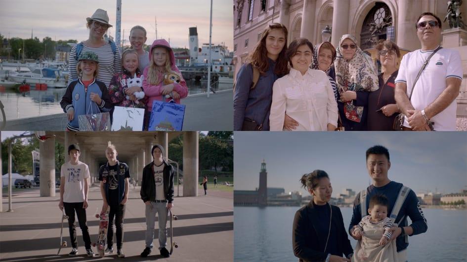 Stockholm lockar turister