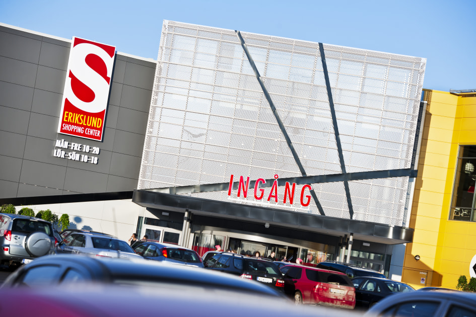 erikslund shopping center öppettider