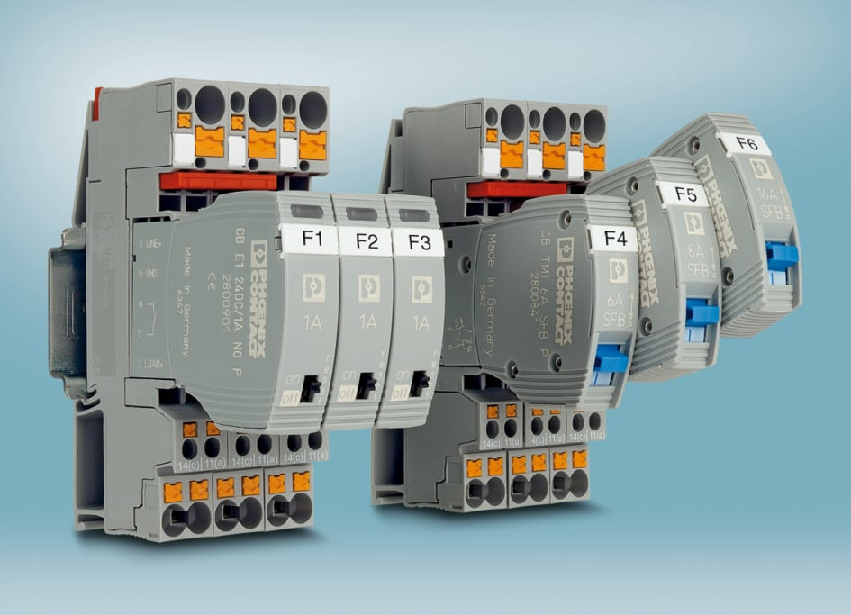 Device circuit breakers with Germanischer Lloyd approval