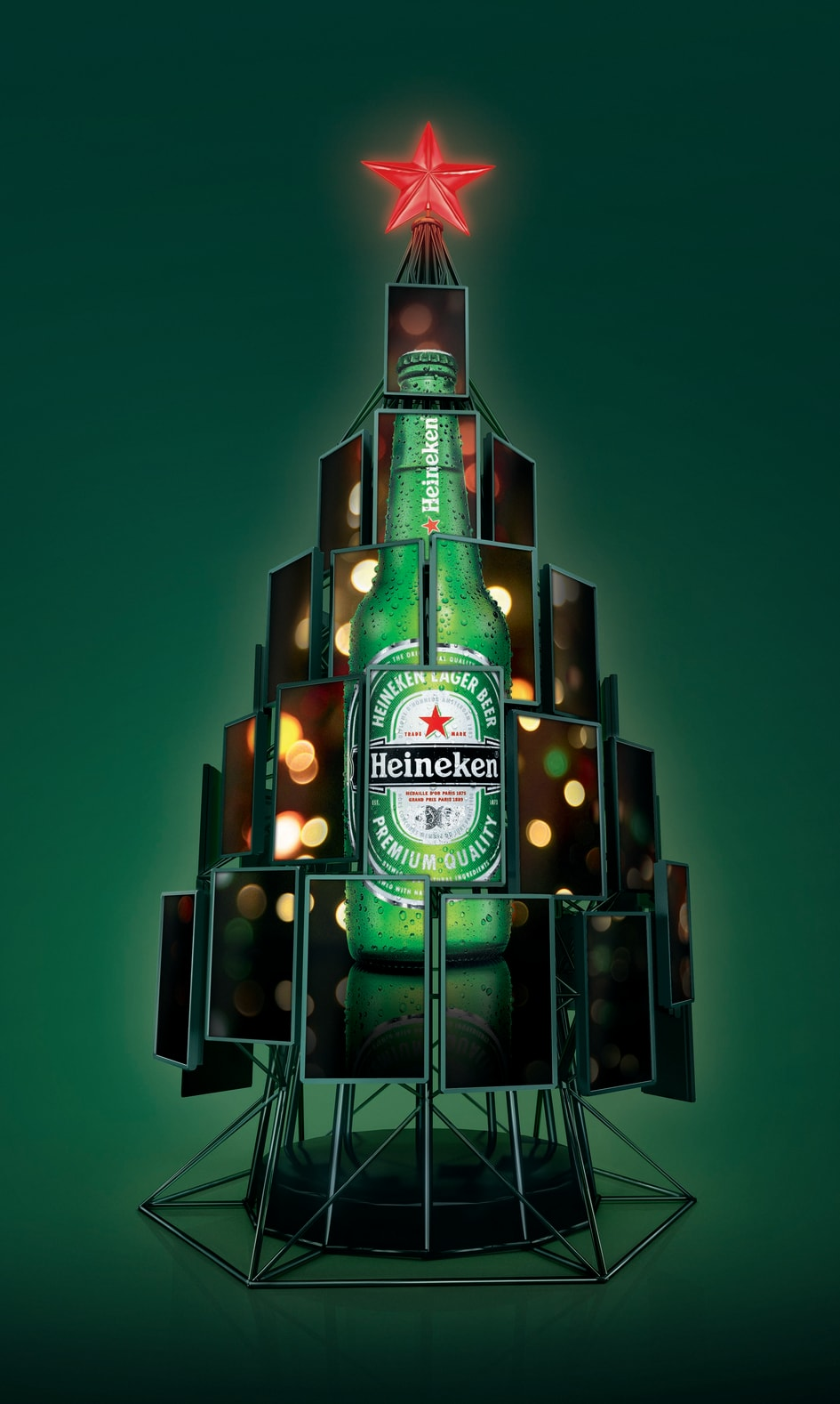 Heineken Social Christmas Tree - Clarke Quay
