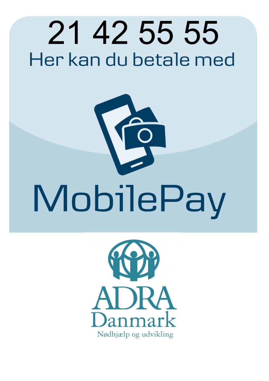 a0091a15af6 Skattefradrag nu også med MobilePay - ADRA Danmark