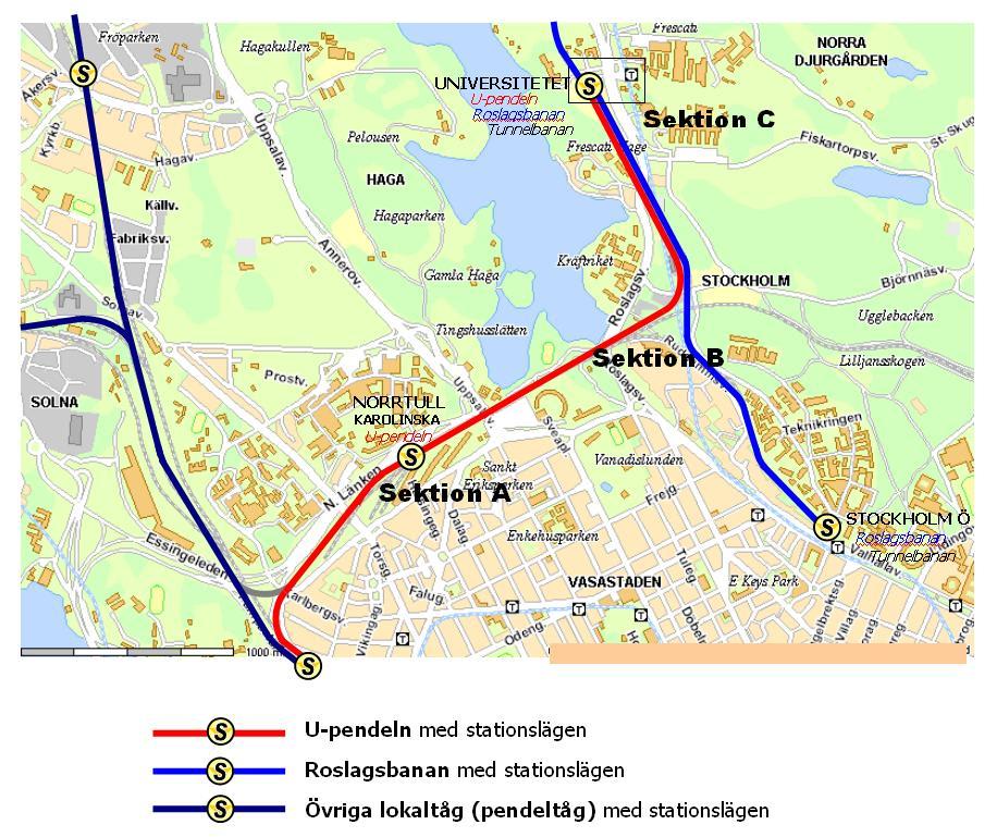 Karta Stockholms Universitet.Bygg Ny Pendeltagslinje Mellan Stockholms Hogskolor Miljopartiet I