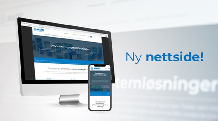 d8ed63875 Mapei med ny nettside i Norge! - Mapei AS