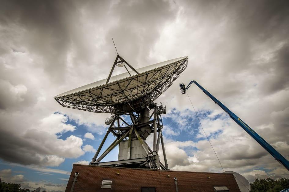 BT's international satellite communications centre