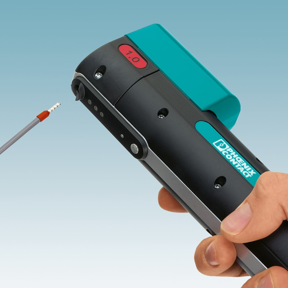 Mobile Powered Stripping and Handheld Crimping Tool - Phoenix Contact UK