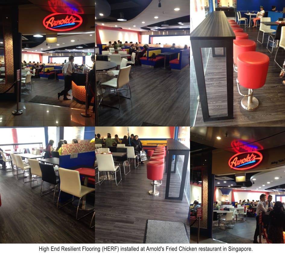 Restaurant Flooring Options In Singapore Evorich Flooring