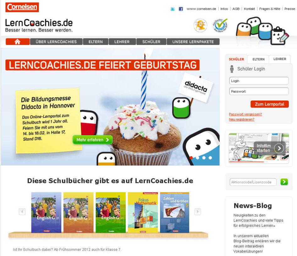 Ein Jahr Lerncoachiesde Zum Cornelsen Schulbuch Cornelsen