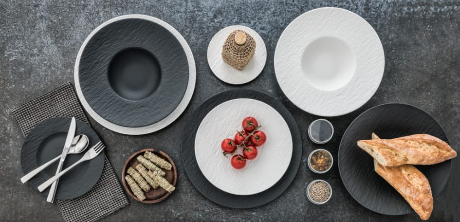 The Rock – Authentic slate look for creative food