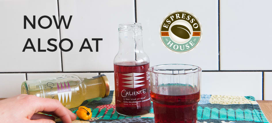 Espresso House Sweden adds Caliente to their range
