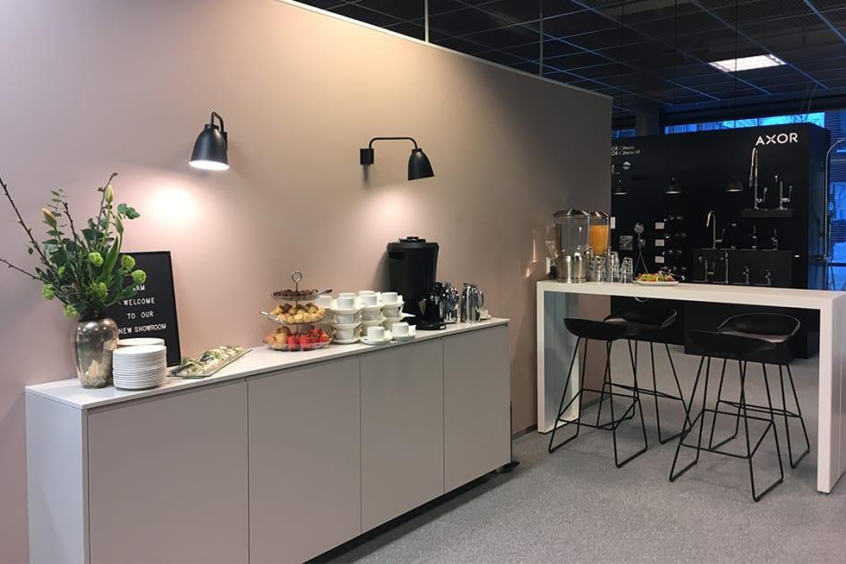 Hansgrohe Suomi uusi showroom avattu Helsingin Arabianrantaan ...