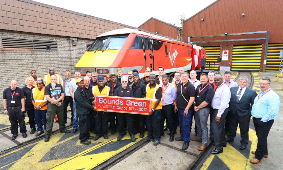 Virgin Trains Class 91 named to mark 40 years of High Speed