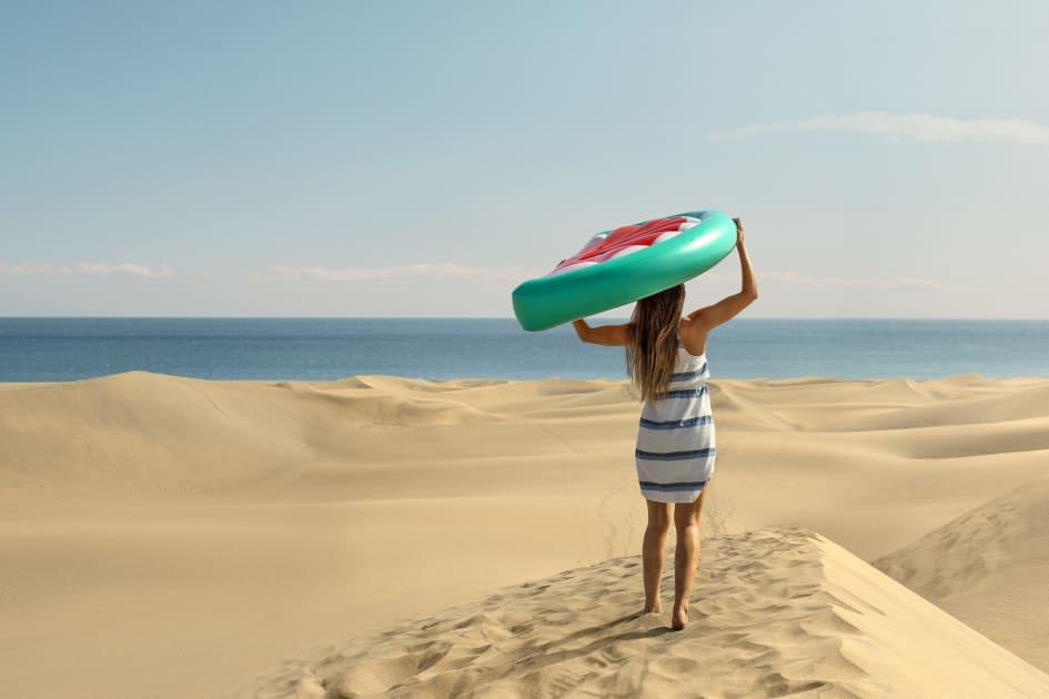 rejser i sommerferien