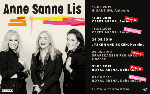 Anne Sanne Lis Ekstra Koncerter I Aarhus Og København Live Nation