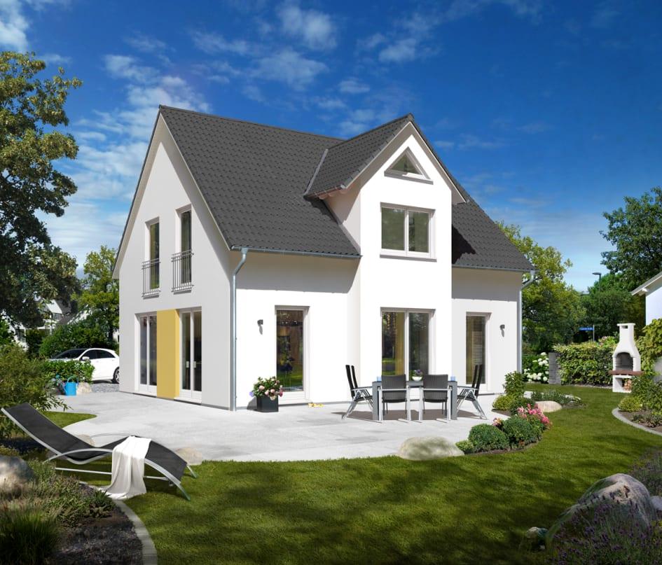 Massivhaus bauen: Bauherren bevorzugen das Einfamilienhaus. - Town ...
