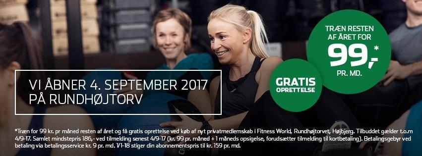 eaa5f58de20 Århusianere får Fitness World nummer 10 - Fitness World