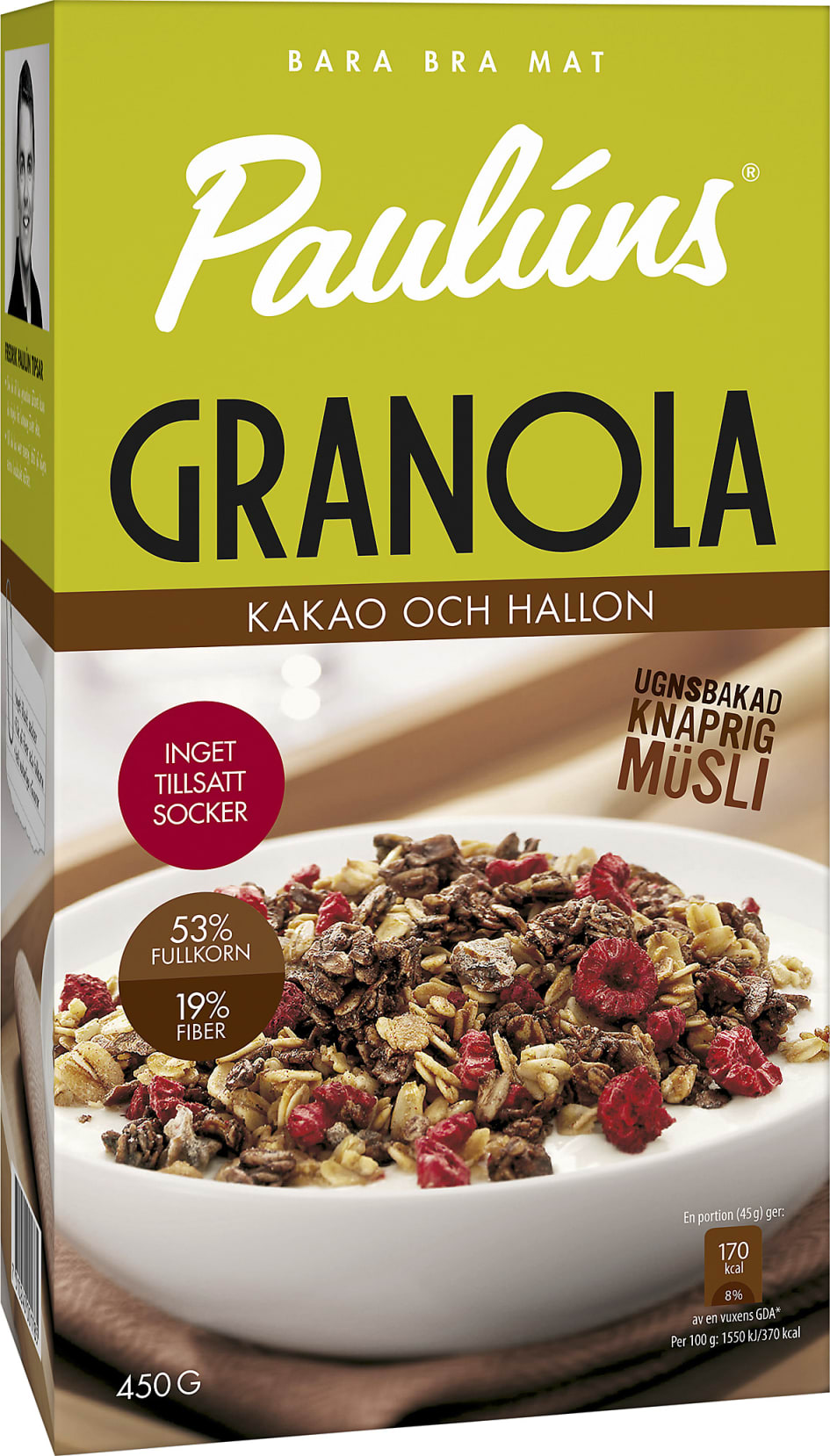 granola med kakao