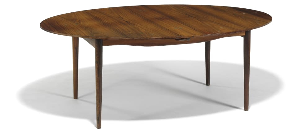 Pleasing Finn Juhl Judas Table Oval Brazilian Rosewood Dining Gmtry Best Dining Table And Chair Ideas Images Gmtryco