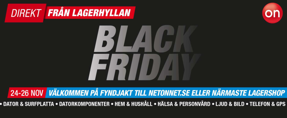 black friday borås