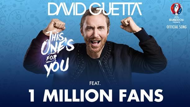 David Guetta Står For Den Officielle Sang Til Em I Fodbold 2016 I