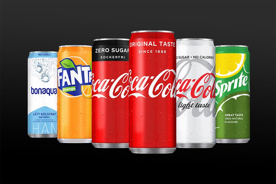 coca cola till sverige