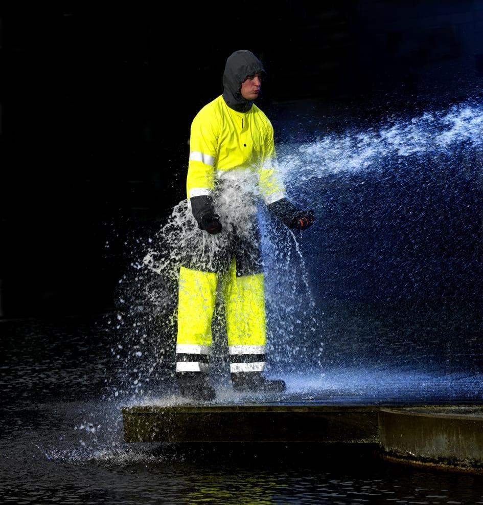 regnställ 10000 vattenpelare