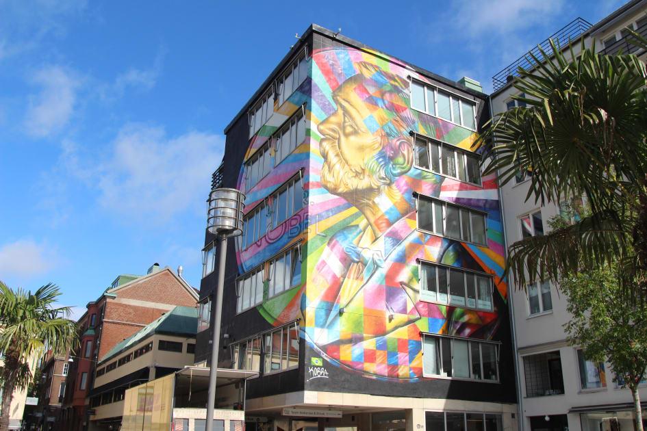 Karta Skulpturer Boras.No Limit Street Art Boras Fler Guidade Visningar Boras Tme