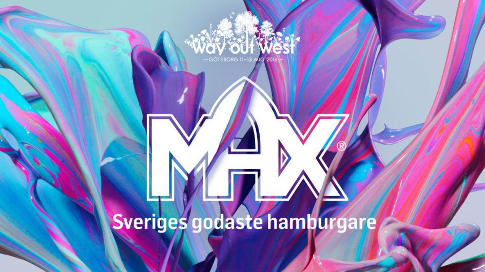 Världens Första Vegetariska Max öppnar På Way Out West Max Burgers Ab