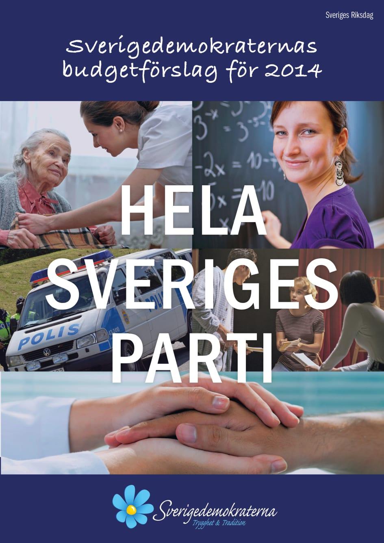 Sverigedemokraternas budget