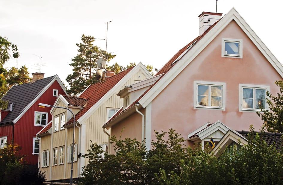 Villapriserna steg under sommaren