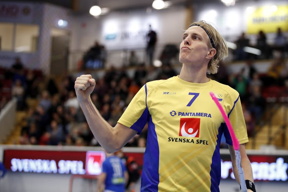 Nilsson tangerade malrekord nar sverige vann