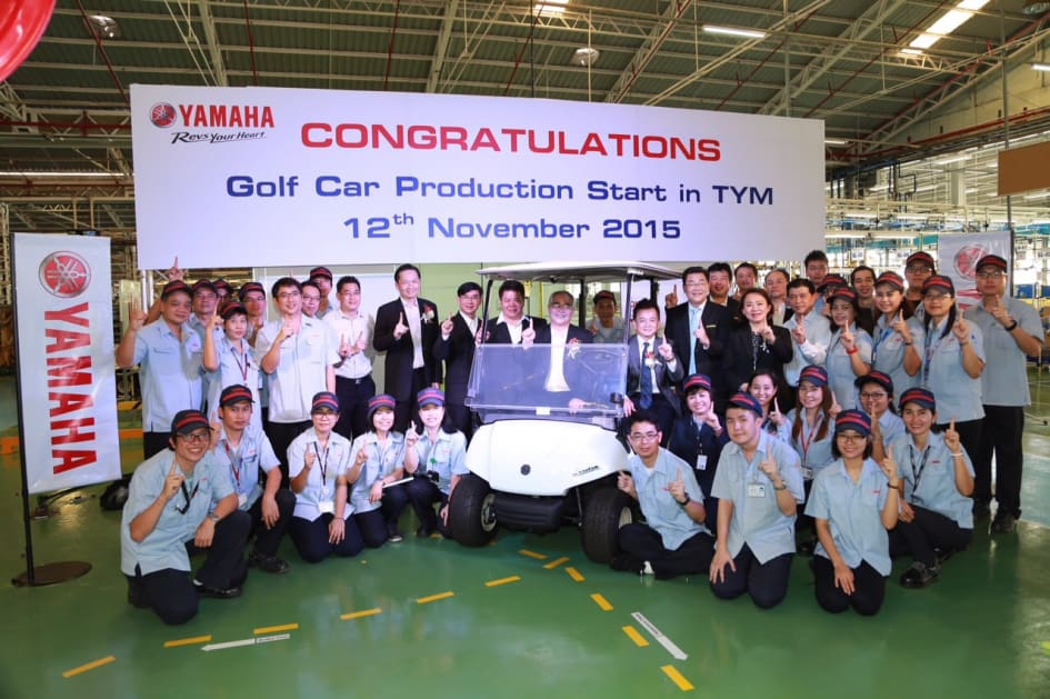 Yamaha Motor Begins Golf Car Production in Thailand — New