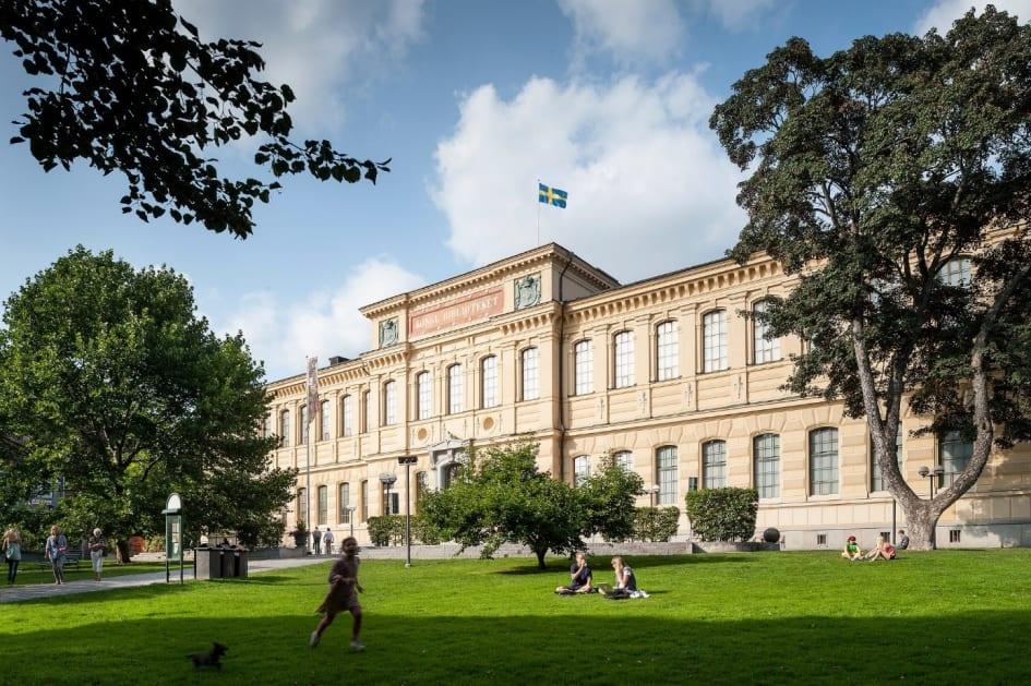 Kungliga biblioteket byggs om
