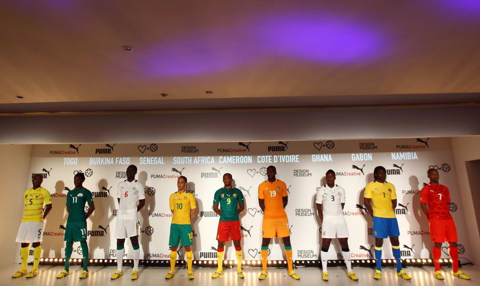 PUMA LAUNCHES 2012 AFRICAN FOOTBALL KITS THROUGH A UNIQUE ARTIST ... 8b1922bb3