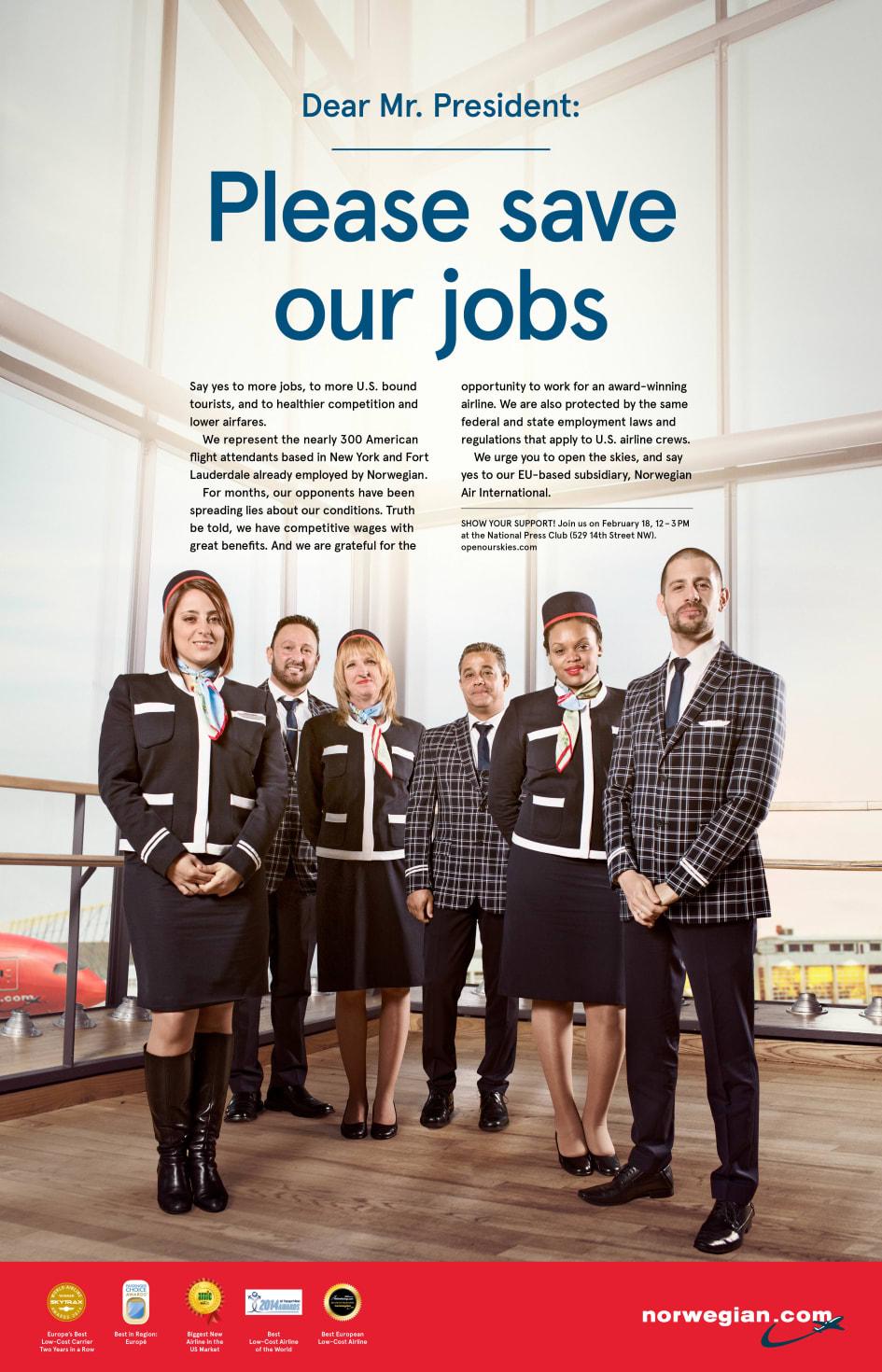 job norwegian