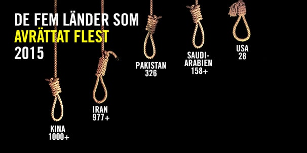 Amnesty allt fler avrattas